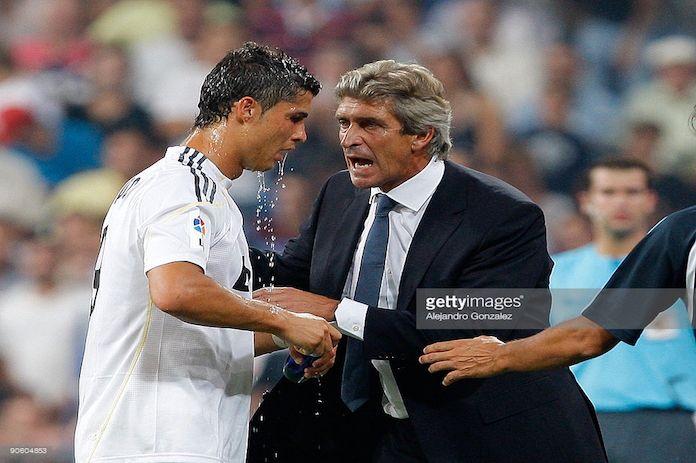 Pellegrini ya sabe como parar a Cristiano Ronaldo