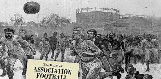 primer partido de futbol