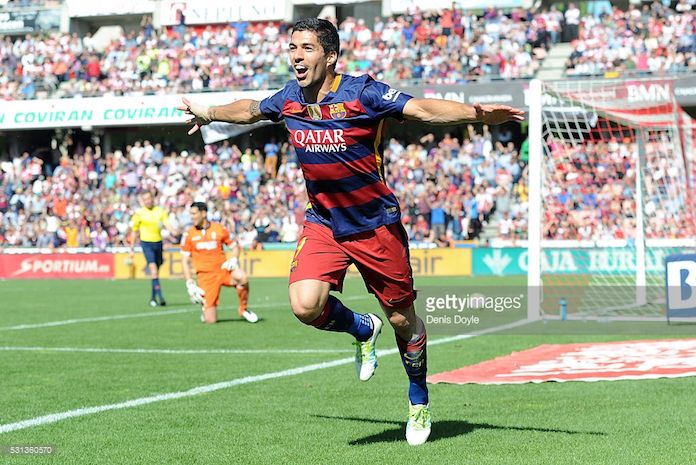 luis suarez barcelona campeon