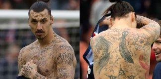 futbolistas tatuados