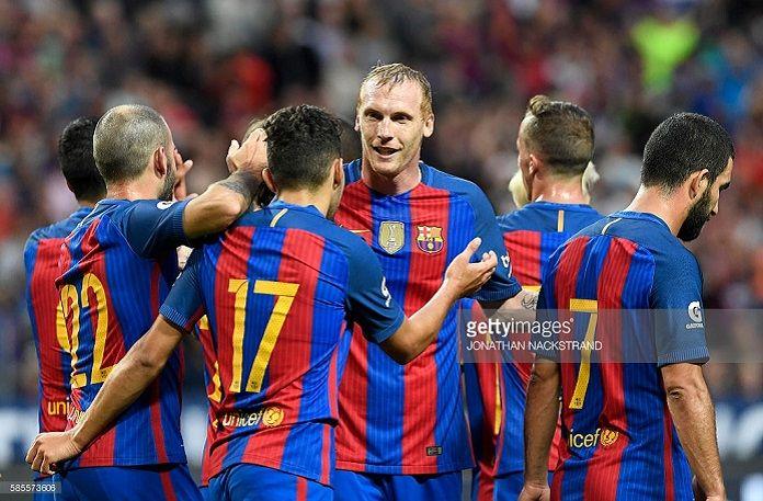 Barcelona Arsenal Mathieu