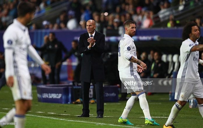 Real Madrid record Liga Zidane