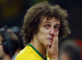 david luiz futbolistas llorando