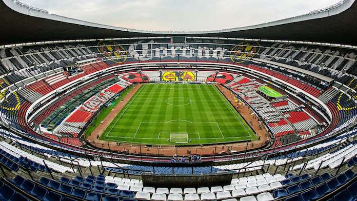 El estadio más grande de América, el Azteca de México