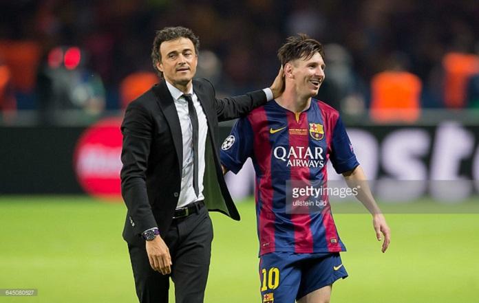 Barcelona Luis Enrique Messi