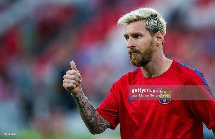 Messi Newell's Barcelona