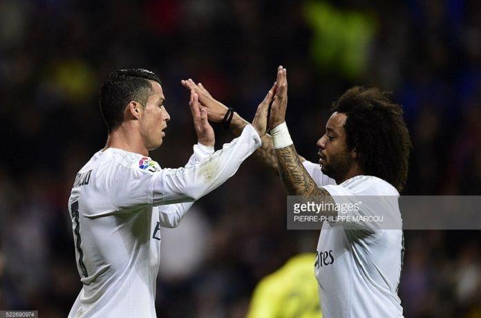 Cristiano Real Madrid Marcelo