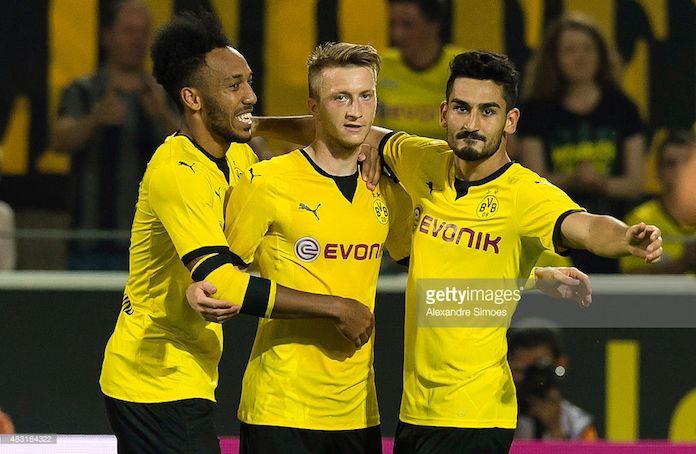 El Barcelona ojea a cuatro jugadores del Borussia