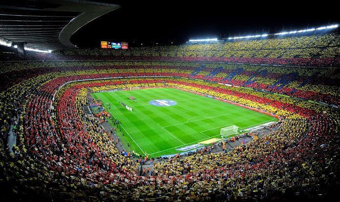 El estadio más grande de Europa, el Camp Nou