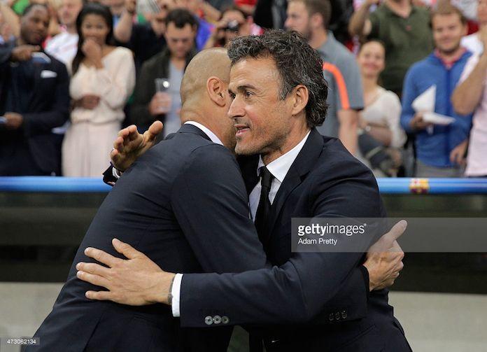 Luis Enrique defiende a Guardiola tras las críticas