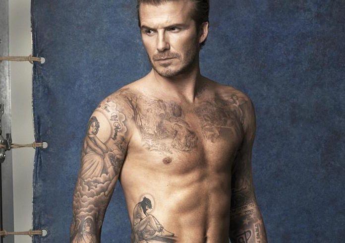 beckham tatuajes