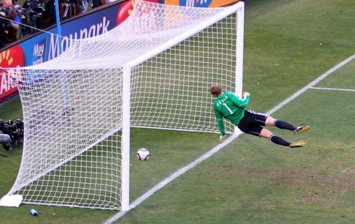 El gol fantasma de Lampard en el Mundial ante Alemania