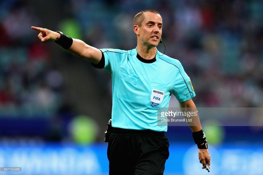 ¿Quién es Mark Geiger, el árbitro del Perú-Nueva Zelanda?
